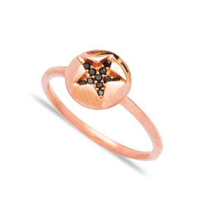 Minimalist Star Design Wholesale Handcrafted 925 Sterling Silver Jewelry Ring