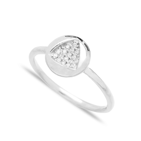 Minimalist Marquise Design Wholesale Handcrafted 925 Sterling Silver Jewelry Ring